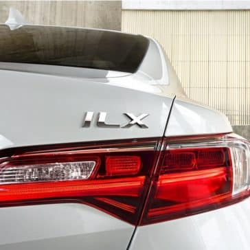 2018 Acura ILX closeup of tailight