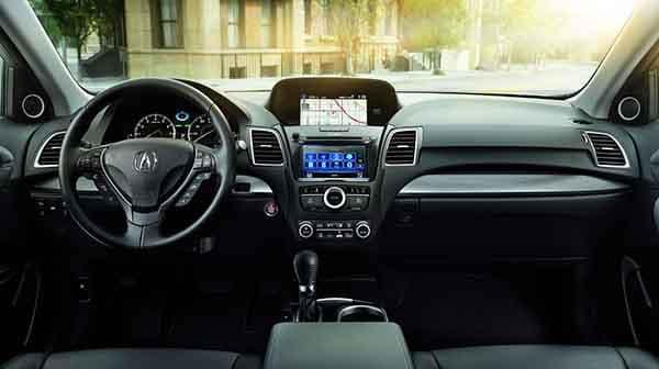 2018 Acura RDX Interior Teachnology Features