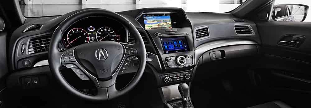 2018 Acura ILX Navigation System on Dashboard