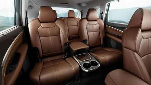 Acura MDX Interior Seating