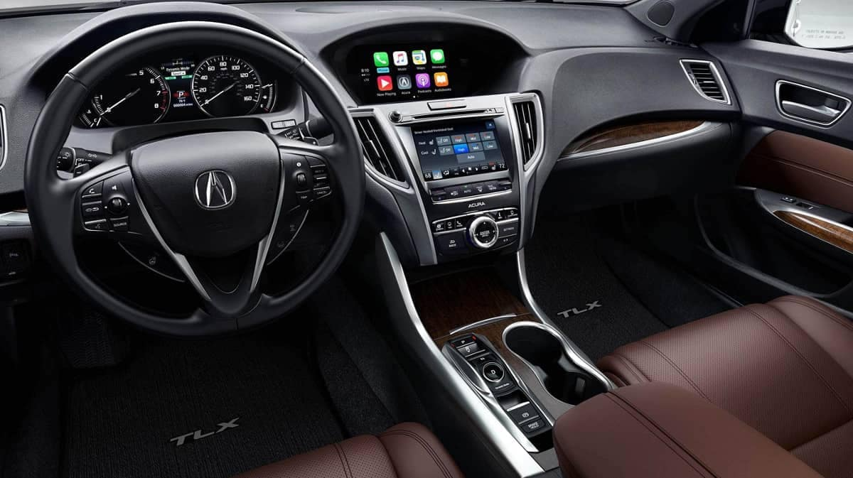 2019 Acura TLX Front Interior and Dashboard