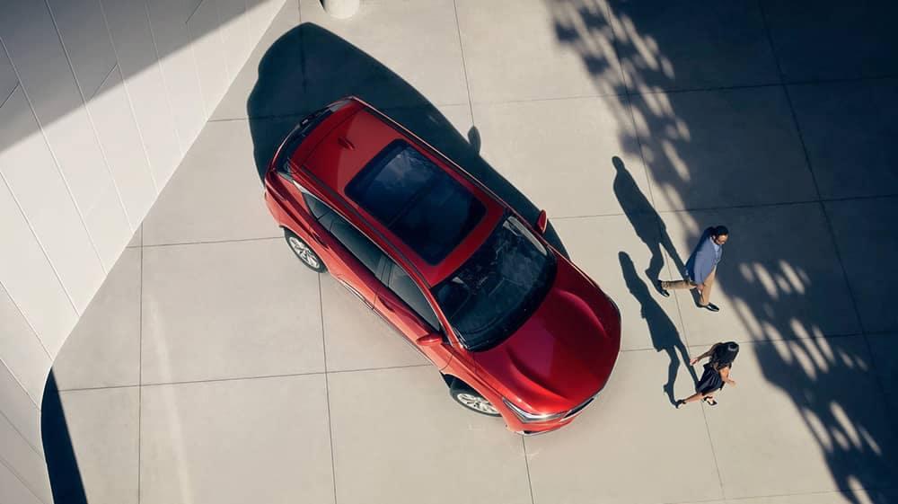 2019 Acura RDX Top View