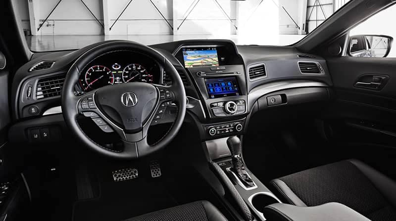 2018 Acura ILX Interior Dashboard Technology