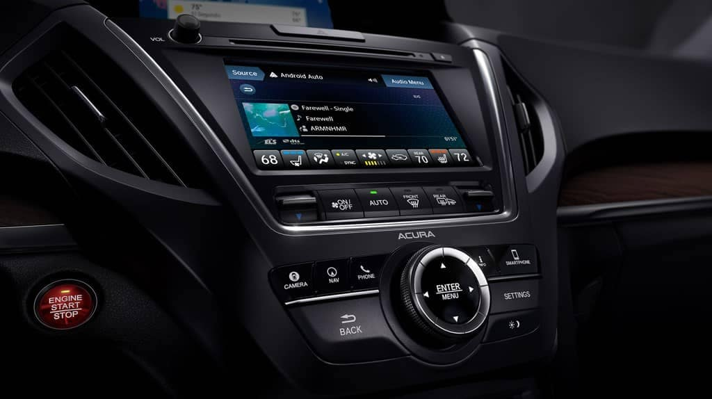 2019 Acura MDX Dashboard Features