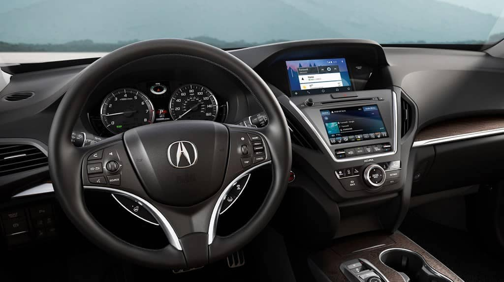 2019 Acura MDX Steering Wheel and Dashboard