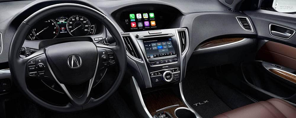 2019 Acura TLX Interior Technology Features