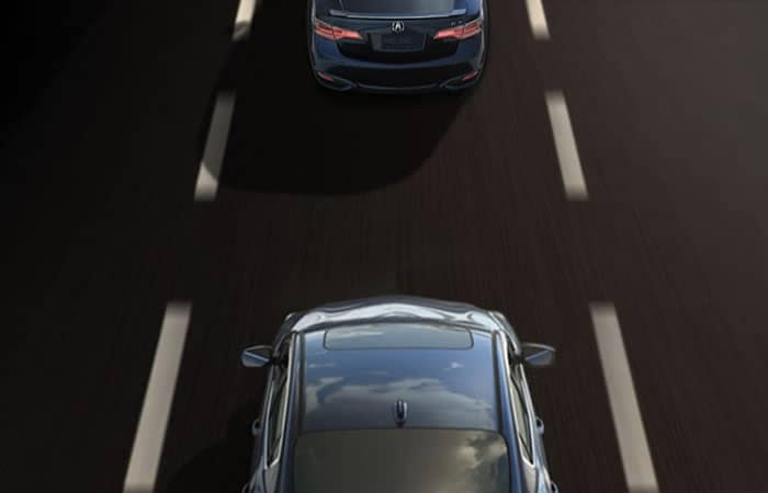 Acura ILX Adaptive Cruise Control