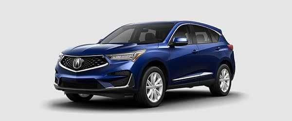 2019 Acura RDX Fathom Blue Pearl