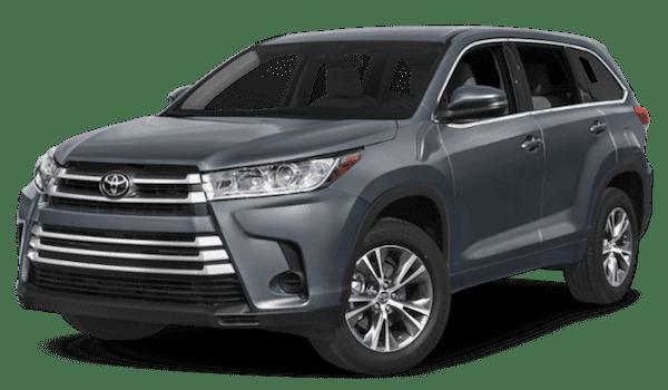 Gray Toyota Highlander
