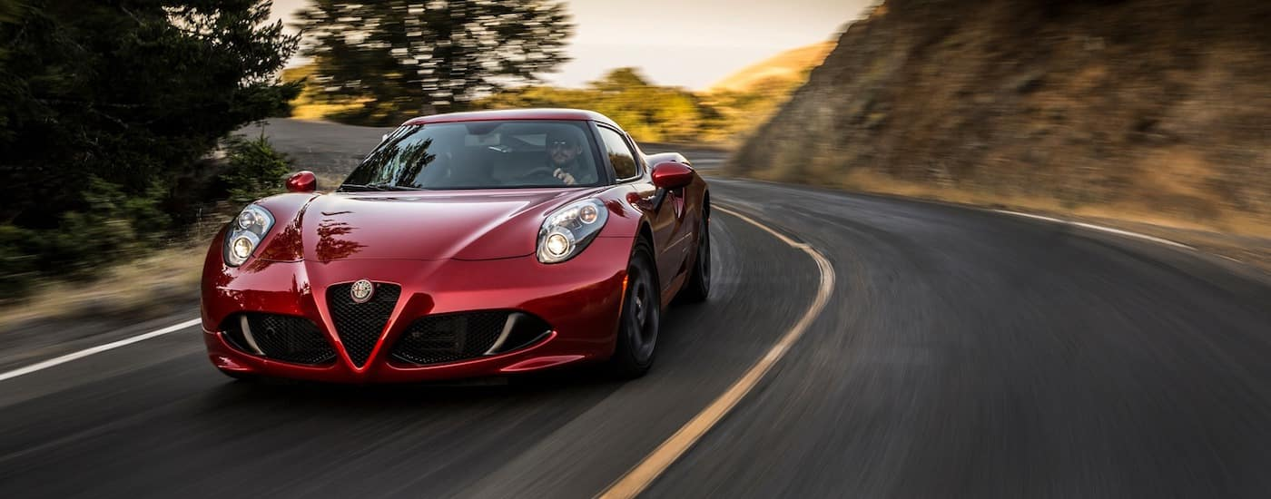 New Alfa Romeo 4C Performance