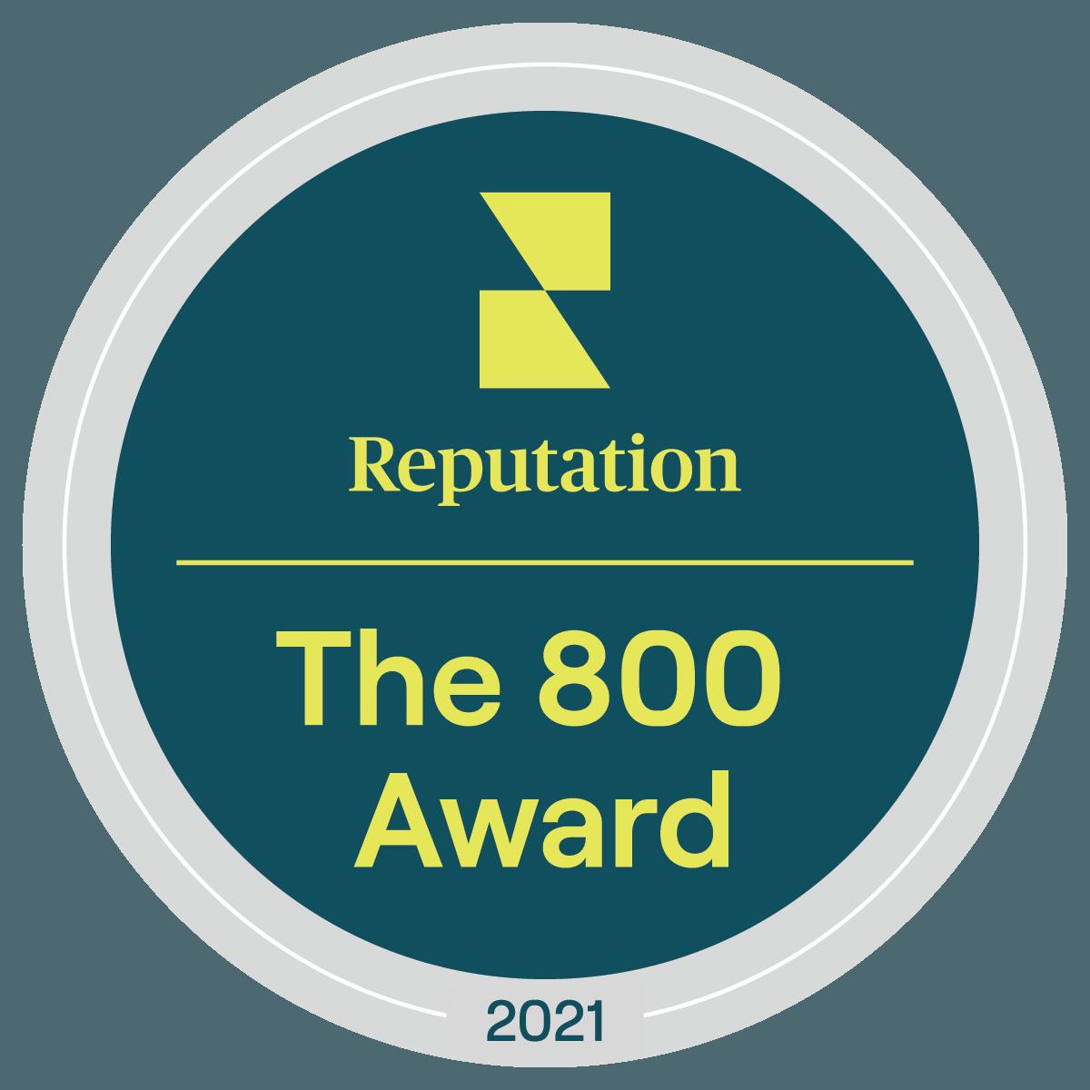 800 award