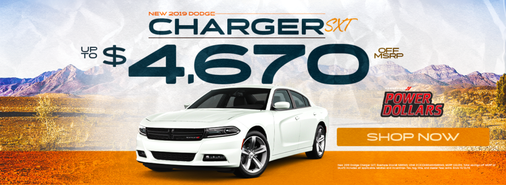 New 2019 Dodge Charger Sale