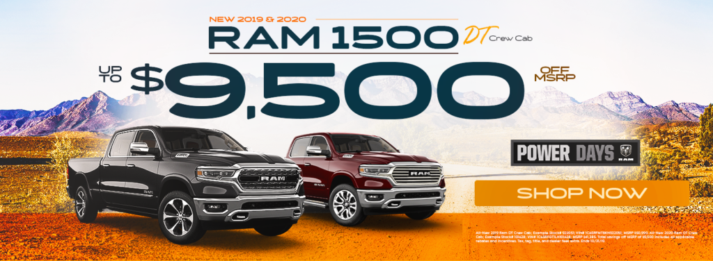 New 2019 and 2020 Dodge RAM 1500 Sale