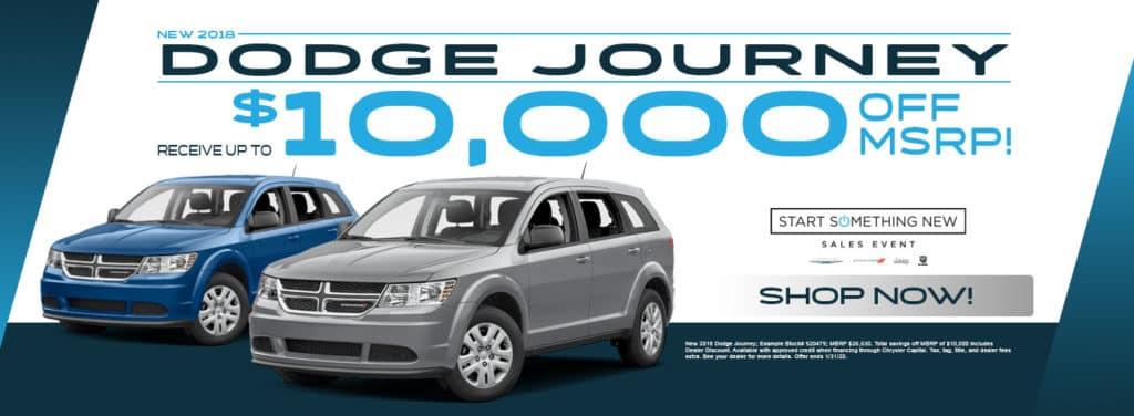 New 2020 Dodge Journey Special