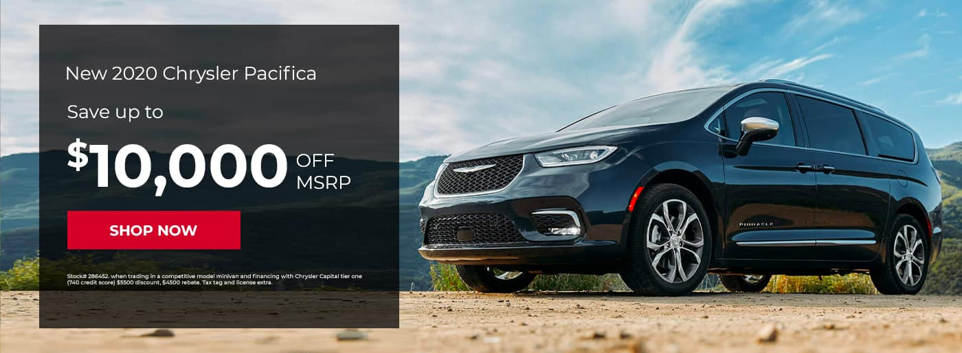 New 2020 Chrysler Pacifica, Save up to $10,000 off MSRP