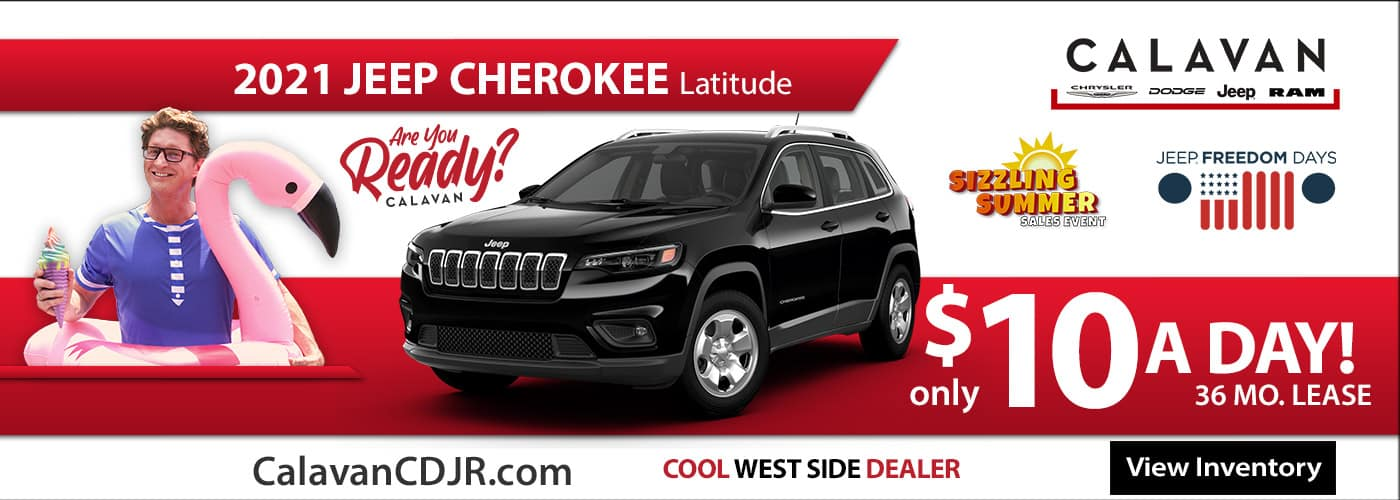 New 2021 Jeep Cherokee - June