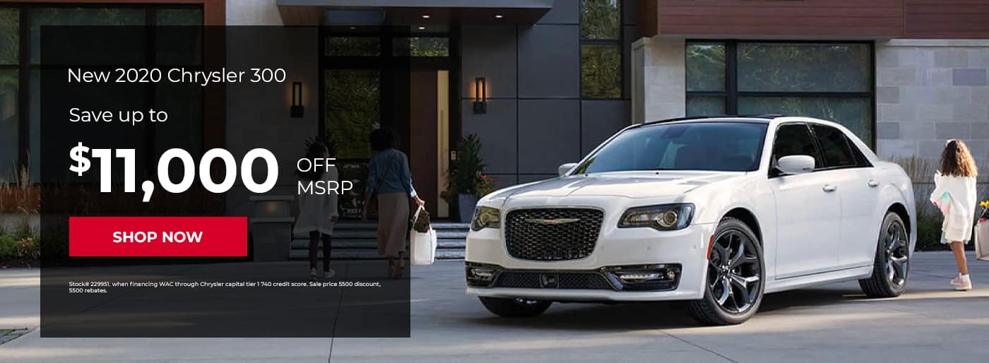 New 2020 Chrysler 300, Save up to $11,000 off MSRP