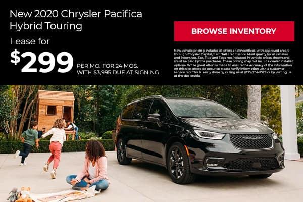 New 2020 Chrysler Pacifica Hybrid Touring