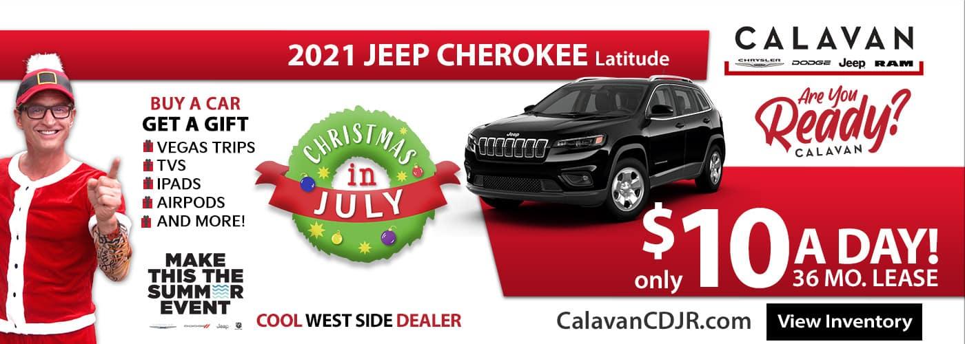 Christmas in July Cherokee