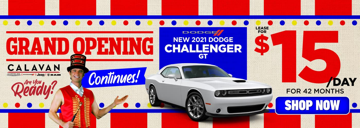 New 2021 Dodge Challenger lease for $15/day - SHOP NOW
