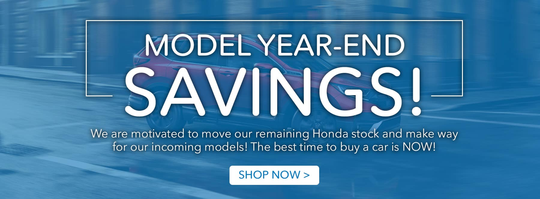 Model Year-End Savings