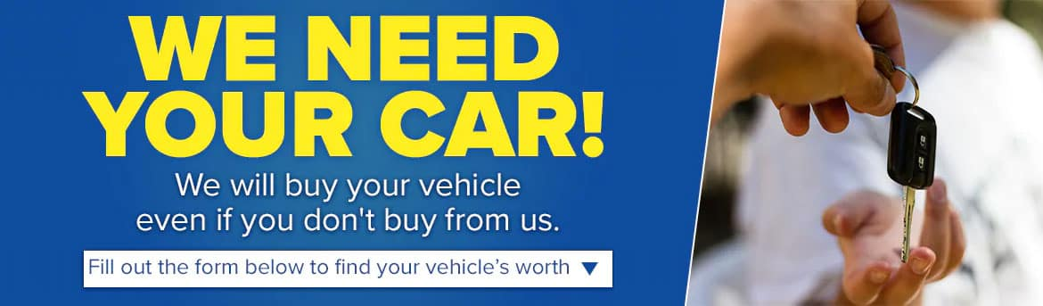 We Need Your Car!