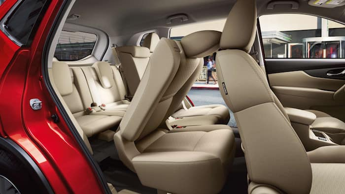 Nissan Rogue Family Package Seating