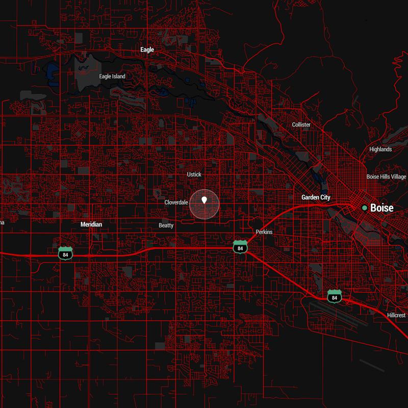 Boise Map