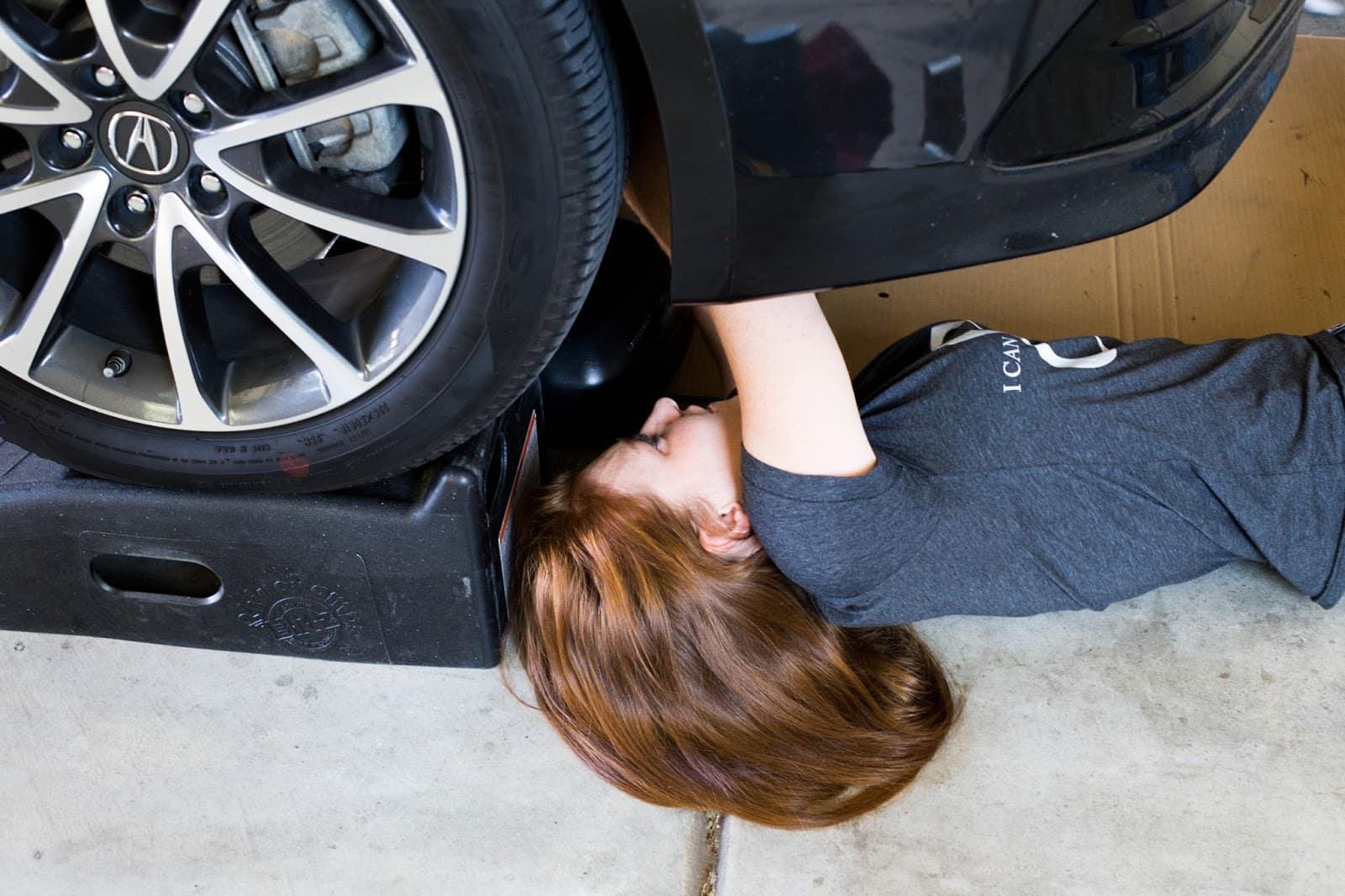 Oil In Your Own Car Diy Divas Autosavvy