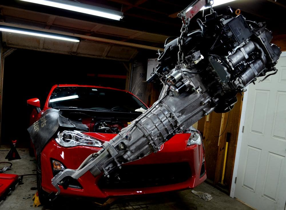 Toyota 86 Engine