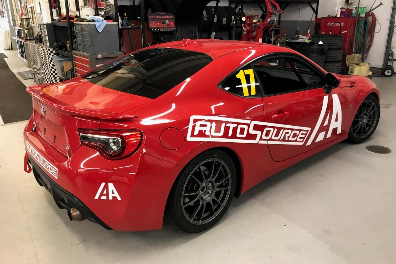 Toyota 86 In Shop
