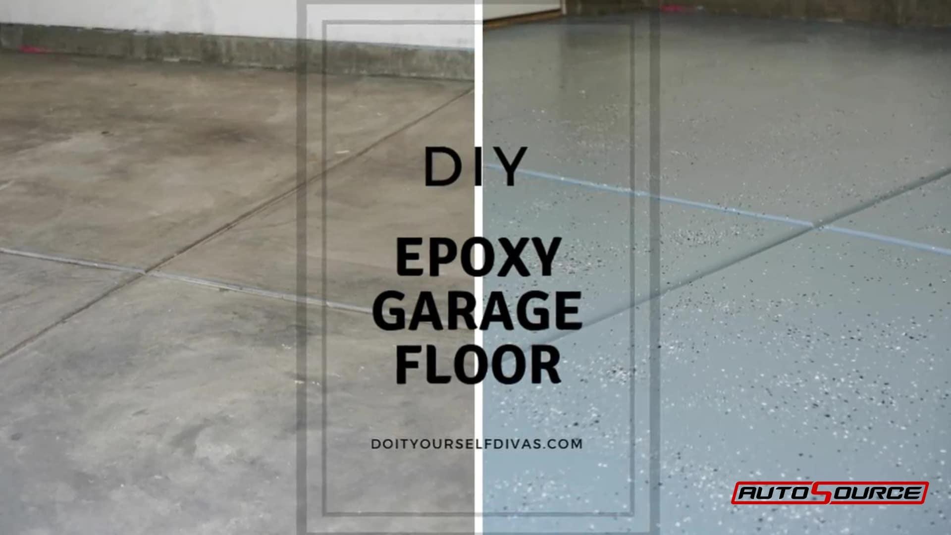 Diy Epoxy Garage Floor Diy Divas Autosource