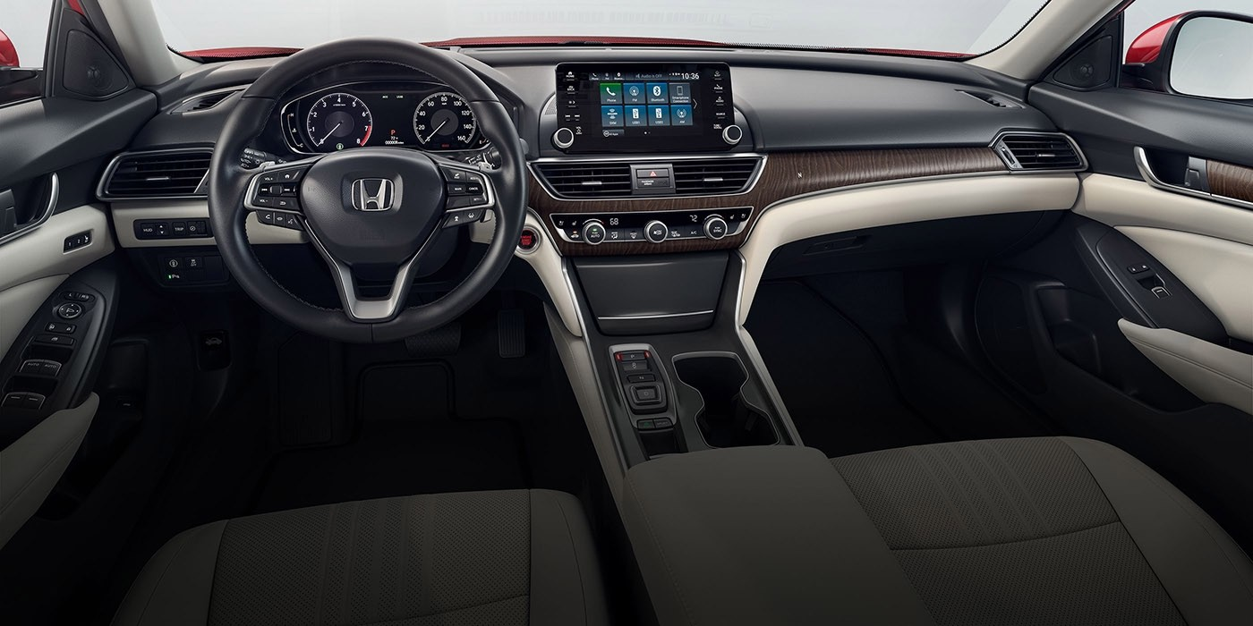 2018 Honda Accord upgraded interior