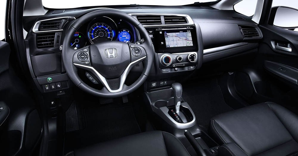2017 Honda Civic roomy interior provides multiple options for interior colors and materials.