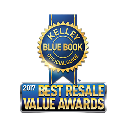 The 2017 Honda HR-V won the 2017 KBB.com Best Resale Value award.