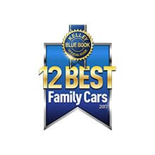 the 2018 Honda Pilot is named by Kelly Blue Book as one of the best family cars for 2018.