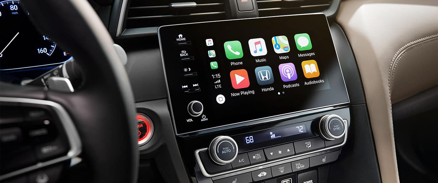 Apple CarPlay available in the 2019 Honda Insight