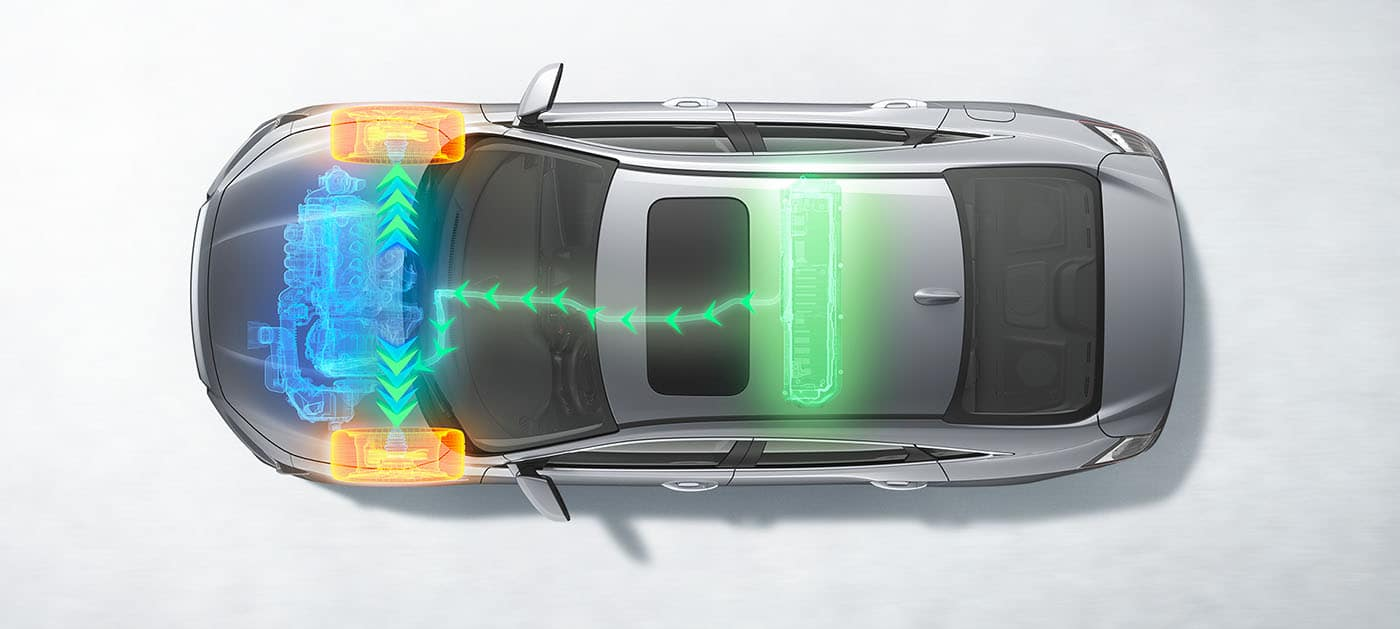 2019 Honda Insight Charging system