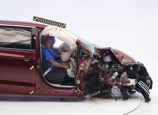 Chrysler Pacifica IIHS Crash Test Rating