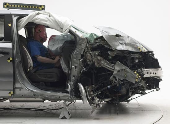 2018 Honda Odyssey IIHS Crash test Rating