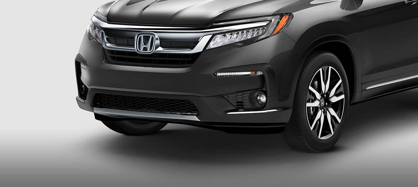 Eye-Catching Front End of the 2019 Honda Pilot