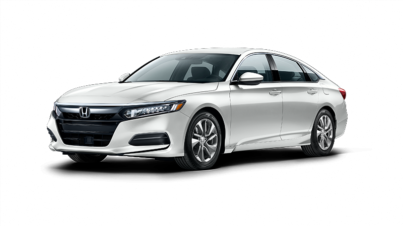 2018 Honda Accord LX in White Orchid Pearl