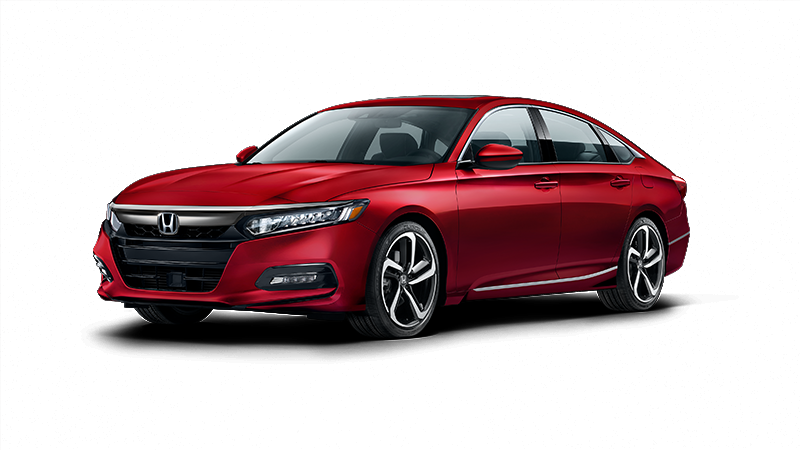 2018 Honda Accord Sport in Radiant Red Metallic