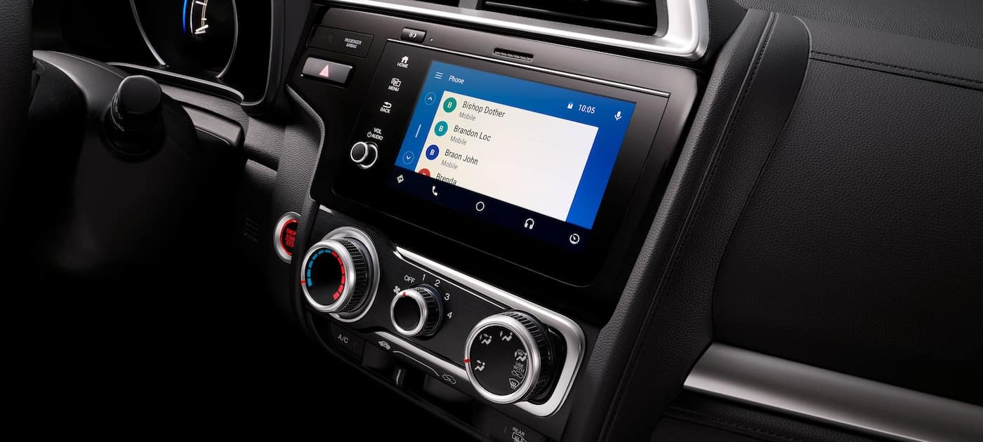 Android Auto integration on the 2019 Honda Fit