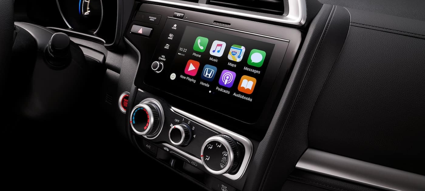 Available Apple CarPlay on the 2019 Honda Fit