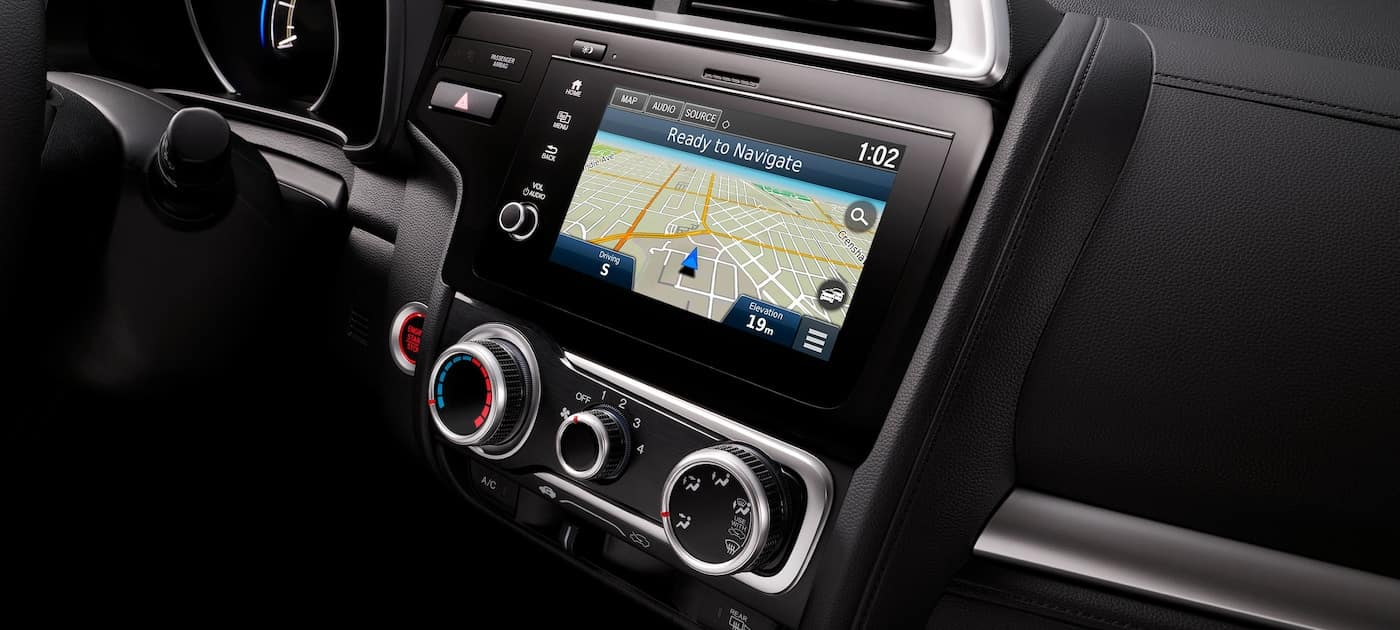 2019 Honda Fit Navigation System with HD Traffic