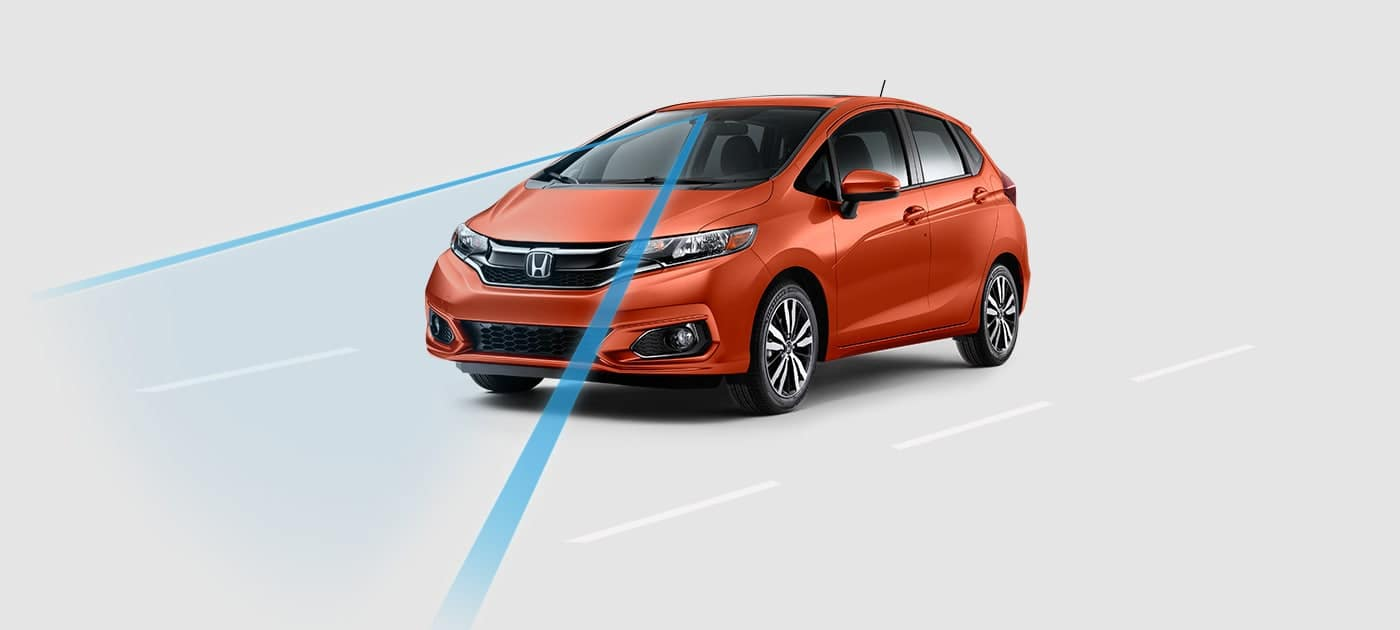Road Departure Mitigation System on the 2019 Honda Fit
