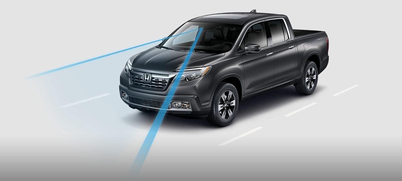Road Departure Mitigation System 2019 Honda Ridgeline