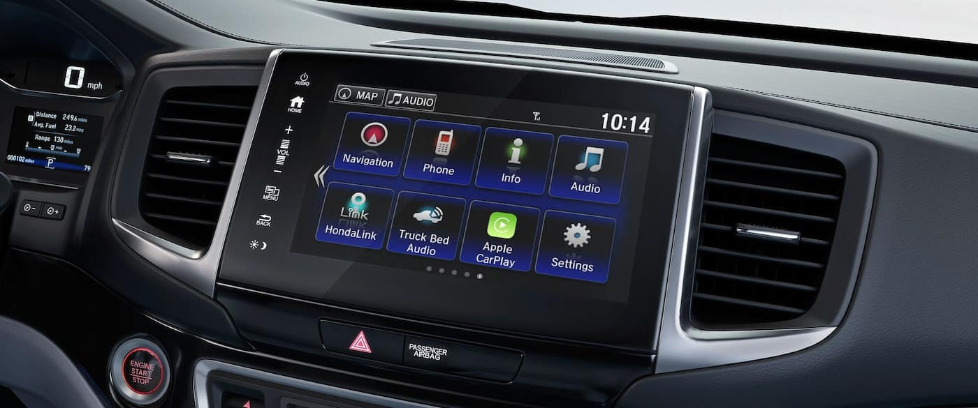 8-inch Display Audio Touch-Screen on the 2019 Honda Ridgeline