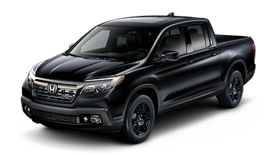 2019 Honda Ridgeline Black Edition in Crystal Black Pearl
